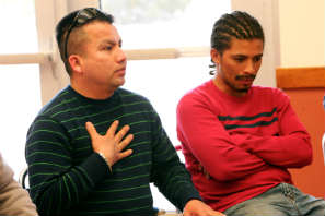 REEL FATHERS--Dads and Kids Night: Dads share stories and strategies during group dialogue